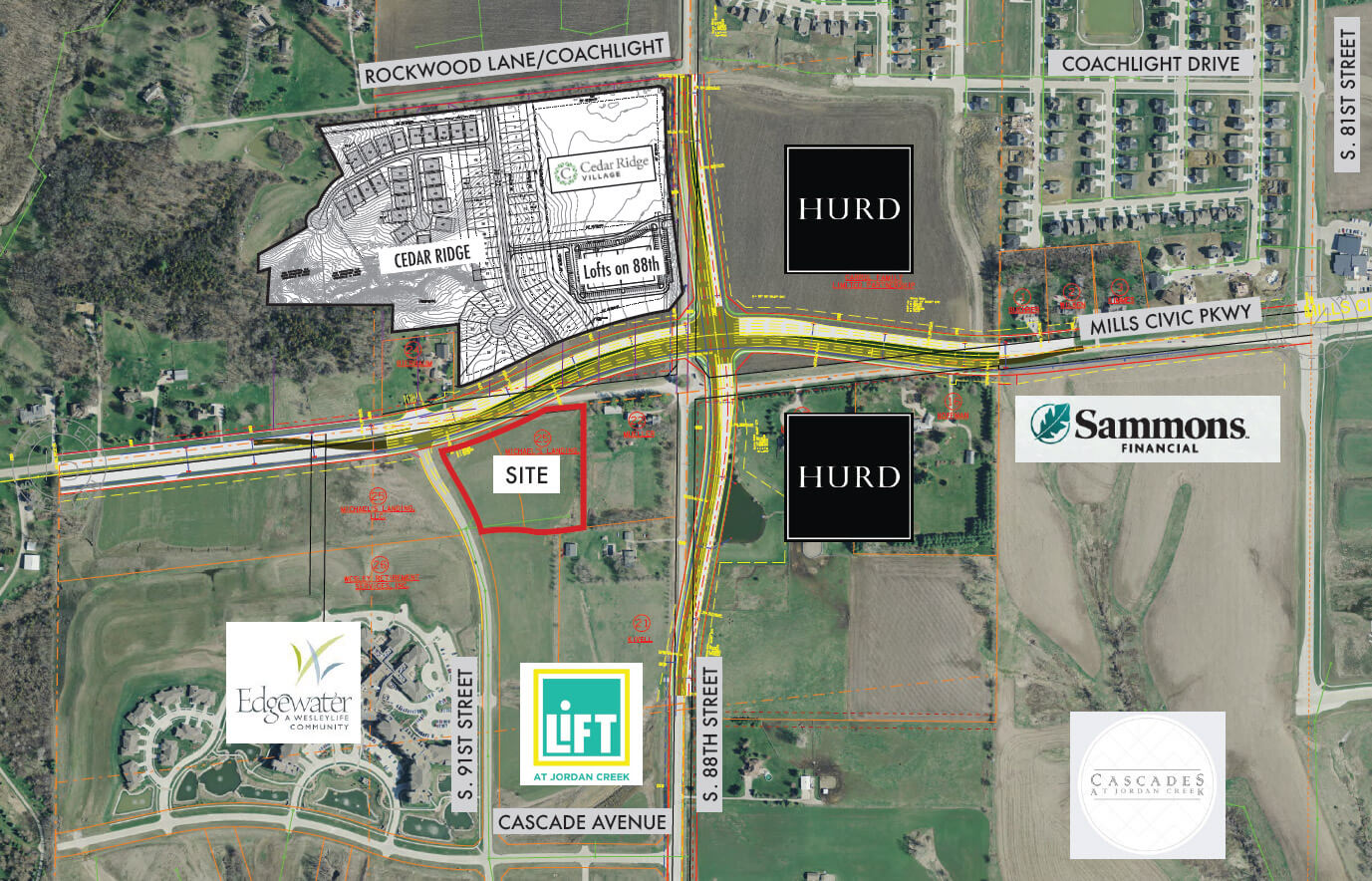 91st and Mills Civic Parkway Commercial Listing