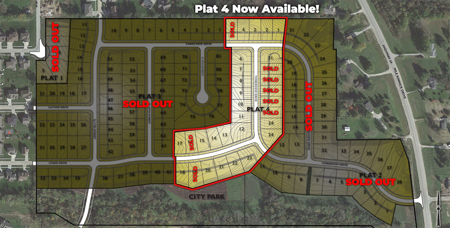 Timberline West Lots Available - Adel, Iowa