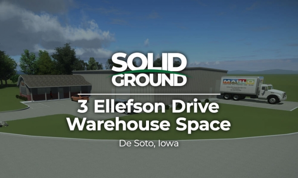3 Ellefson Drive - Warehouse Space - De Soto, Iowa