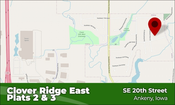 Clover Ridge East - Plats 2 and 3 - Ankeny, Iowa